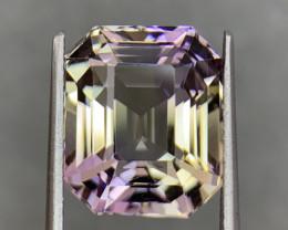 10.13 Cts  FALWLESS BOLIVIAN  AMETRINE Fancy cut   Gemstone