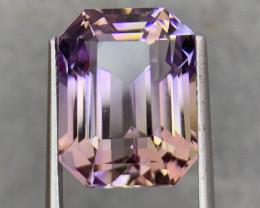 13.44 .Cts  FALWLESS BOLIVIAN  AMETRINE Fancy cut   Gemstone