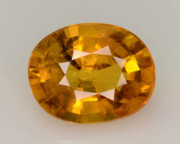 Top Clarity & Color 1.85 ct Rarest Yellow Sapphire