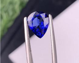 3.38 Carat Royal Blue Sapphire Ceylon  Gemstone