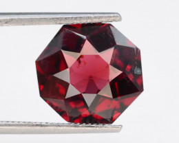 Fancy Cut 3.20 Natural Blood Red Almandite Garnet ! GAD !