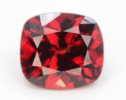 Fancy Cut 2.15 Natural Blood Red Almandite Garnet ! GAD !