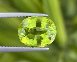 3.50 Cts Natural Himalayan  Peridot Good color
