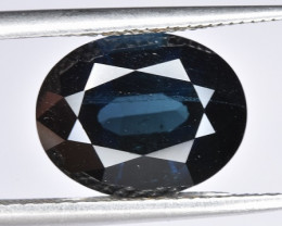 Beautiful 4.37 CTS Indicolite Tourmaline Gem