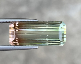 6.90 Cts Bicolor Tourmaline