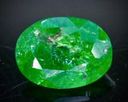 0.57 Crt Natural  Tsavorite Faceted Gemstone.( AB 83 )
