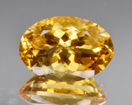 Natural Citrine 11.99 Cts Good Quality Gemstone