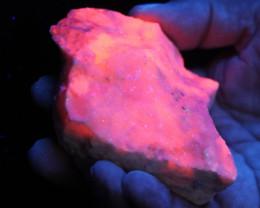 Fluorescent Minerals Maganosite peru  MM 103