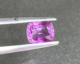 0.71ct unheated pink sapphire