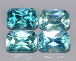 3.30 CTS AWESOME SPARKLE NATURAL RARE BEST BLUE ZIRCON~EXCELLENT!