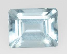 Aquamarine 3.20 Cts Unheated Blue Natural Gemstone