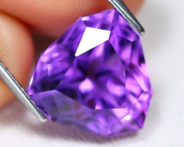 Amethyst 7.56Ct VVS Master Cut Natural Bolivian Purple Amethyst A1111