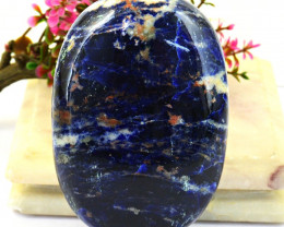 Genuine 1153.00  Cts  Sodalite Cabochon Hand Carved Carving