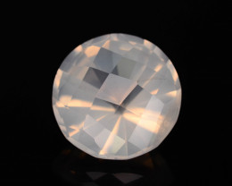 Rare Peach Pink 10.85 ct Feldspar Moonstone~Fancy Cut
