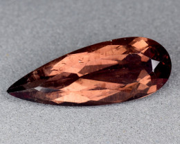 3.04 Cts Reddish Apatite ~ Awesome Color and Luster ~RA20