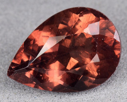 3.03 Cts Reddish Apatite ~ Awesome Color and Luster ~RA30