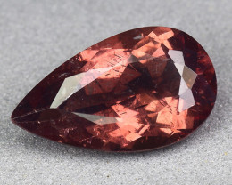 3.74 Cts Reddish Apatite ~ Awesome Color and Luster ~RA37