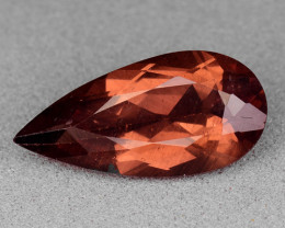 2.69 Cts Reddish Apatite ~ Awesome Color and Luster ~RA39