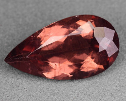 2.68 Cts Reddish Apatite ~ Awesome Color and Luster ~RA44