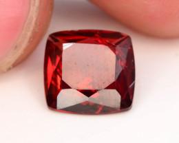 Fancy Cut 2.15 Natural Blood Red Almandite Garnet ! GAD !