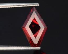 Fancy Cut 1.90  Natural Blood Red Almandite Garnet ! GAD !