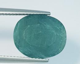 8.13 ct Beautiful Gem Lovey Oval Cut Natural Grandidierite
