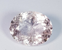 5.55 ct  Excellent Gem  Fantastic Oval Cut Natural Morganite