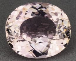 17.37 Ct Natural Kunzite Awesome Color & Cut Gemstone KZ4