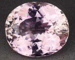 13.07 Ct Natural Kunzite Awesome Color & Cut Gemstone KZ16