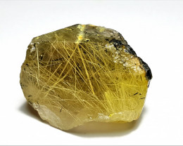 Stunning And Lovely Natural color Rutile Quartz Crystal 58Cts-P