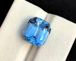 6.90 Carats Aqua Goshnite Gemstone From Pakistan