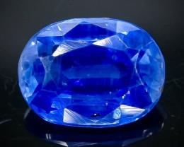 1.80 Crt Natural Kyanite Faceted Gemstone.( AB 84)