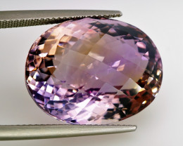29.87 ct. Natural Earth Mined Top Ametrine Unheated Bolivia - IGE Сertifi
