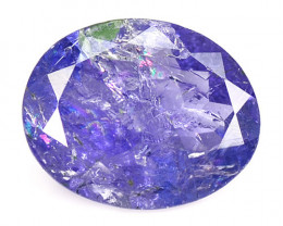 *No Reserve*  Tanzanite 2.24 Cts Amazing rare Violet Blue Color Natural Gem