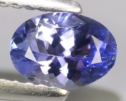 0.70 CTS~EXCELLENT OVAL CUT_MARVELOUS_NATURALl TANZANITE NR!!