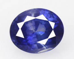 Ceylon Sapphire 1.47 Cts Amazing Rare Natural Fancy Blue Loose Gemstone