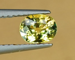.80CT ZESTY LEMON YELLOW NATURAL SAPPHIRE $1NR!