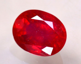 Ruby 3.66Ct Madagascar Blood Red Ruby E1417/A20
