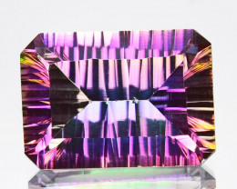~EMERALD CUT~ 8.22 Cts Candy Mystic Natural Topaz 14x10mm Octagon Brazil