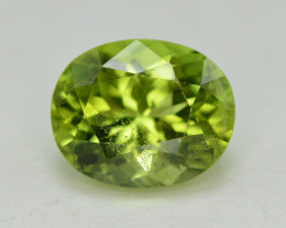 Peridot 3.10 Ct Natural Amazing Color, Top Quality