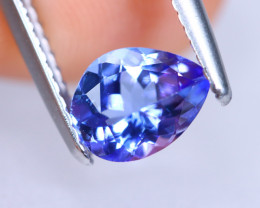 0.89cts Natural D Block Tanzanite Stone / KL733