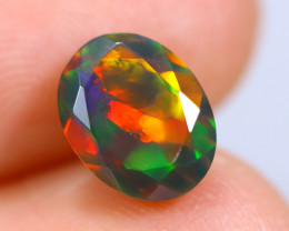 1.52cts Natural Ethiopian Smoked Faceted Welo Opal / KL740
