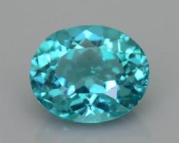 Rare 1.92 ct Amazing Luster Blue Apatite SKU.18