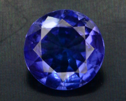 AAA Grade 0.70 ct Tanzanite eye catching Color H.M
