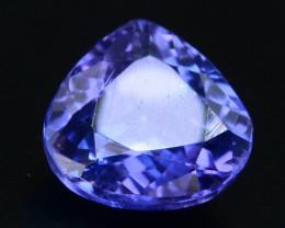 AAA Grade 1.00 ct Tanzanite eye catching Color H.M