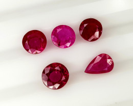 2.85CT RUBY PARCEL BEST QUALITY GEMSTONE IIGC31