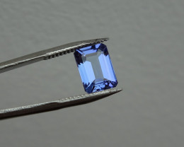 Tanzanite - Blue Rich - 1.15ct Cert -