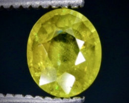 0.60 Crt  Sphene Faceted Gemstone (Rk-59)