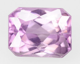 6.40 Cts kunzite pink color natural earth mine loos gemstone