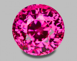 Flawless, high gem quality natural vivid pink sapphire.